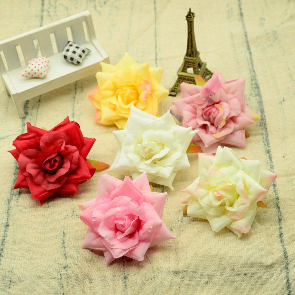 Digital Gear Bags 8cm Fake Butterfly Orchid Silk Plastic Flowers Home Wedding Decoration Accessories Diy Christmas Wreath A Cap Artificial Flowers