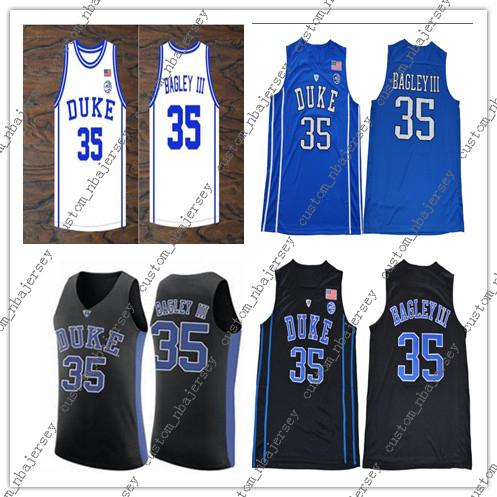 de44f795535 2019 Cheap Cutstom Duke Blue Devils 35 Marvin Bagley III Basketball Jerseys  Stitched Custom Player National League Basketball Jersey XS 5XL From ...