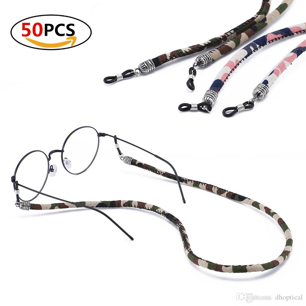 52bca0dc212b Eyeglasses Cord Colorful Camouflage Cord For Sunglasses Reading Glasses  Avoid Glasses Slip Wholesale Cheap Eyeglasses Computer Glasses From  Dhoptical