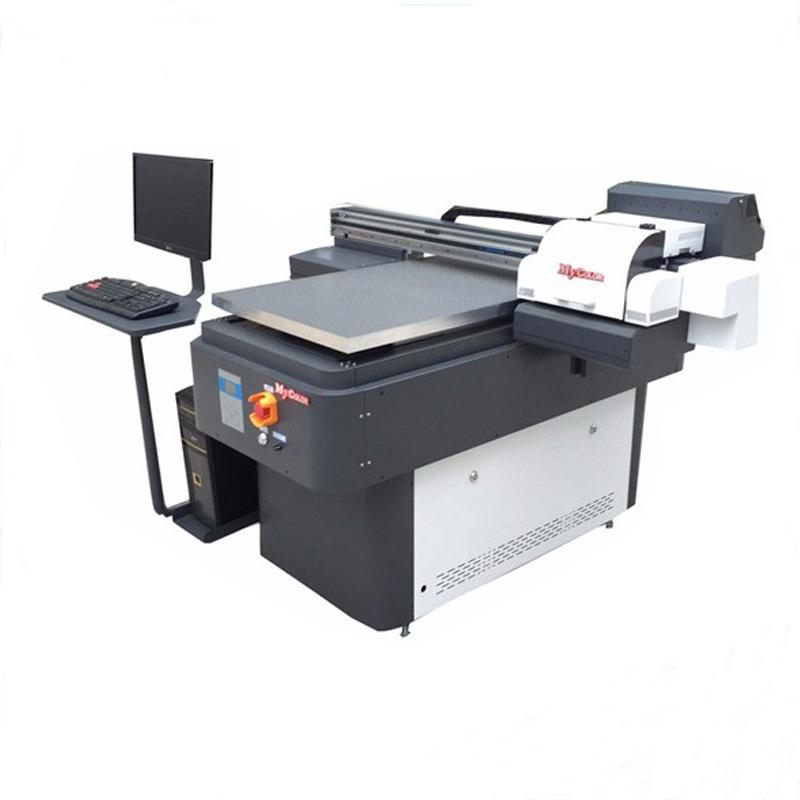 Digital fabric printing machine uv printer with rotary attachment price