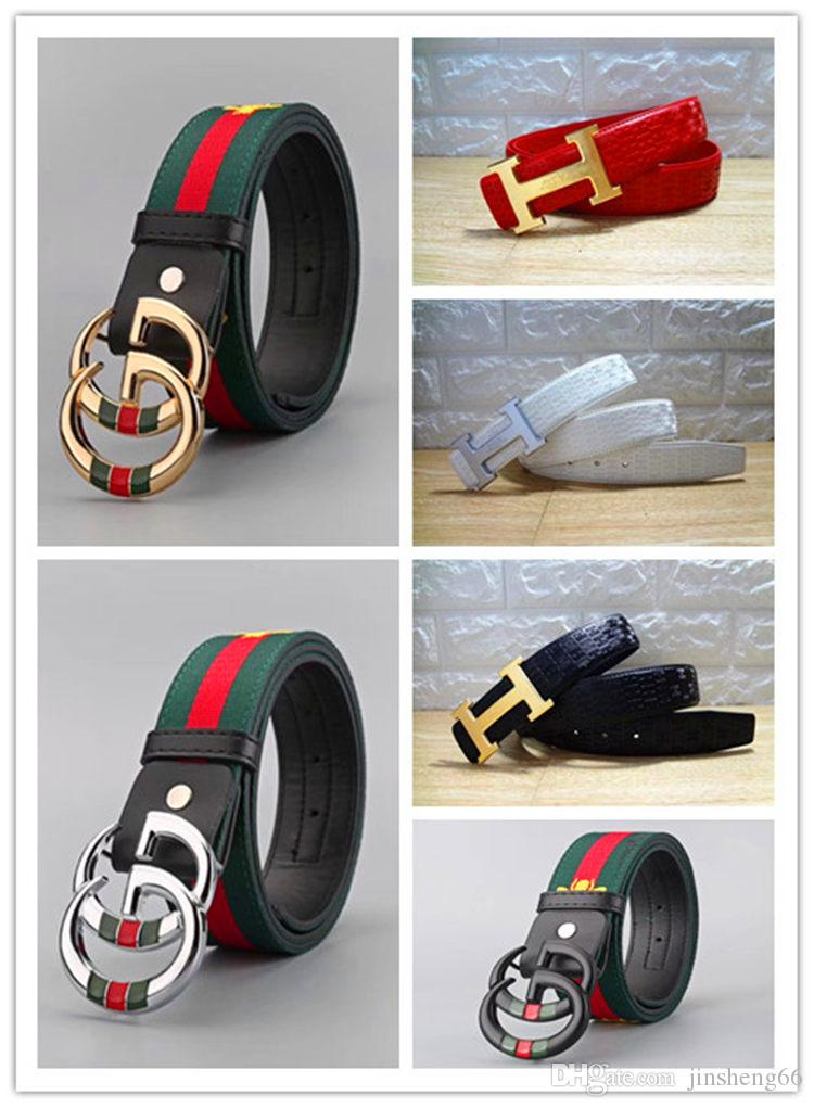 Hot selling new fashion brand designer GH buckle men s and women s belts  luxury high quality men s leather men s belts, free delivery!