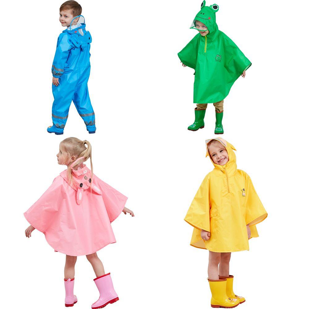 a5b93593f043 2019 Raincoat For Children Cartoon Kids Girls Rainproof Rain Coat ...