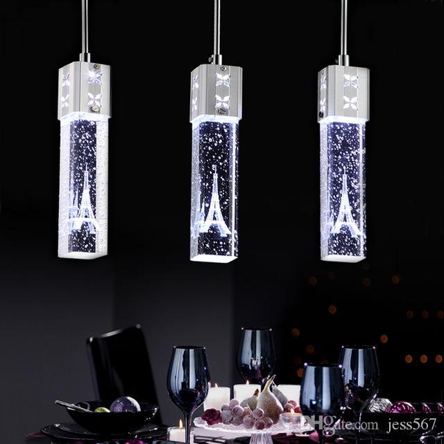 Facile À Cristal En Nettoyer Lampe Suspension Ronde Jess Nouvelle Luminaires Moderne Lustre Led lcKT1FJ3