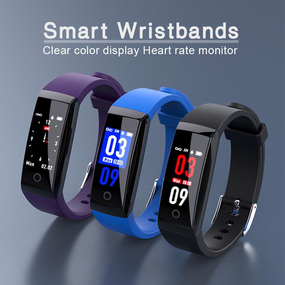 349ce14931a8 Reloj Inteligente Bluetooth W8 Banda Inteligente IP67 Resistente Al Agua  Actividad De Pulsera Inteligente Rastreador Monitor De Ritmo Cardíaco  Calorías ...