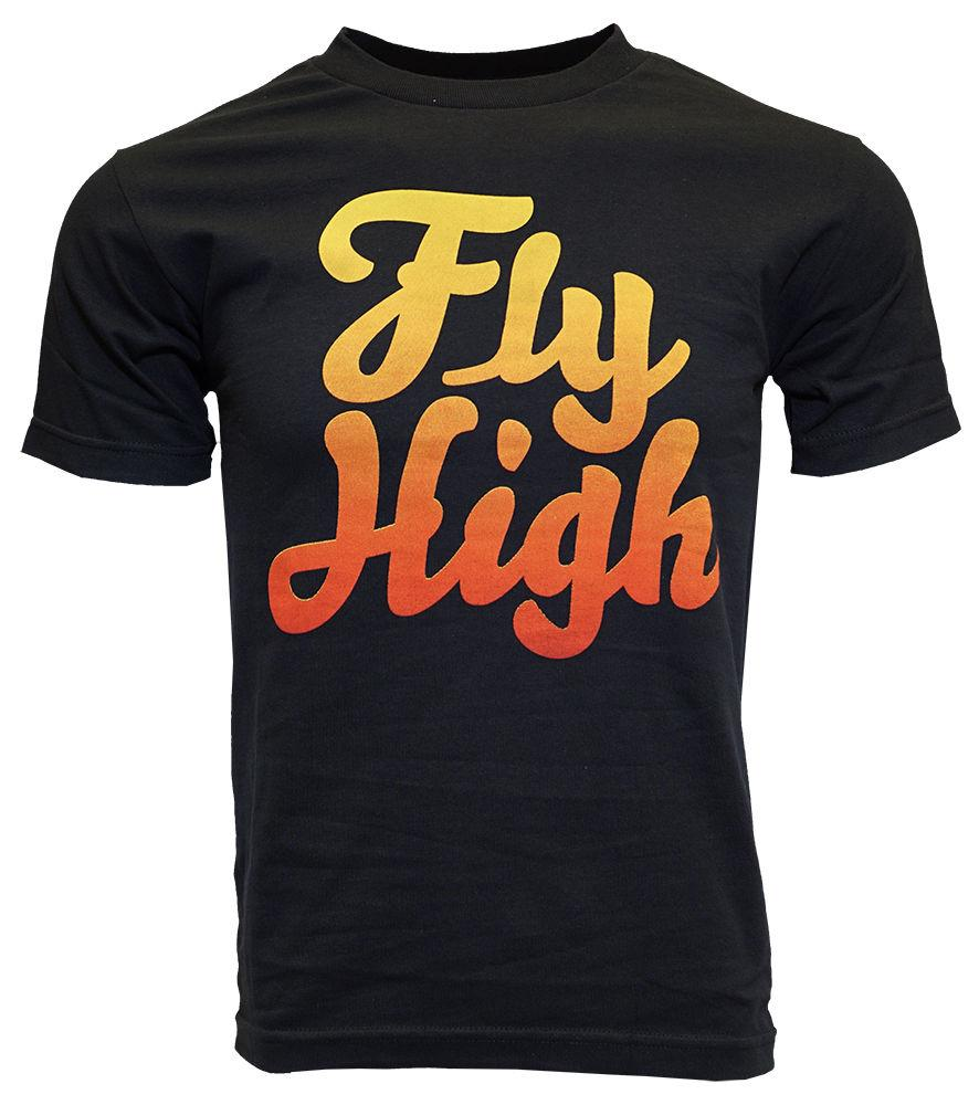 e09c228120ca FLY SOCIETY MEN BLACK FLY HIGH T SHIRT Funny Unisex Casual In T Shirts T  Shirts For From Cheznobody