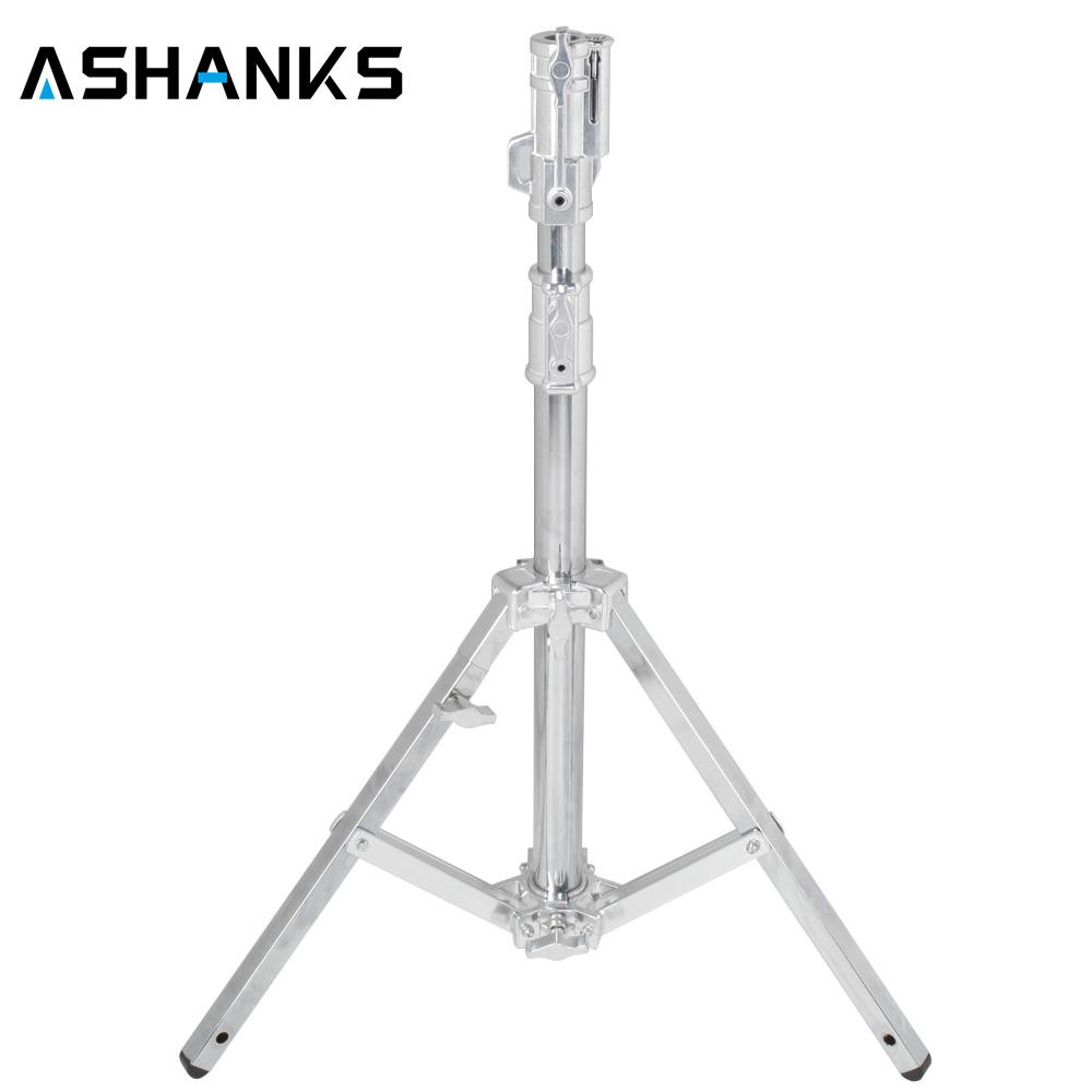 ASHANKS B301 Heavy Duty Light Stand Studio Stand 133CM stainless steel Tripod load 40kg for light 2k 5k HMI compact par 1.2k M18