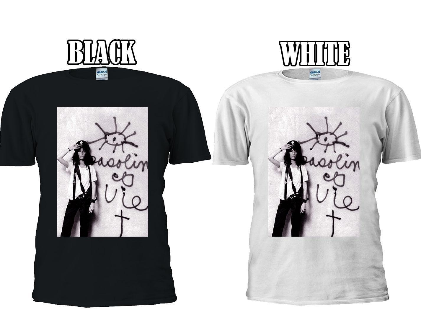 5aac67a6b95ab Patti Smith 70 S 80 S 90 S Punk Rock T Shirt Vest Tank Top Men Women Unisex  298 Men Women Unisex Fashion Tshirt Rude T Shirts Shirt Online From ...