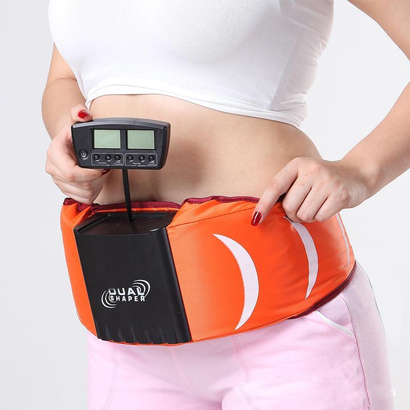 4017d0ae35 Hot Sale Slender Vibro Shaper Dual GYM Ab Slimming Vibration Vibrating  Massager Belt Anti Cellulite Fat Burner Machine Y181122 Slimming Belt Sauna  Slimming ...