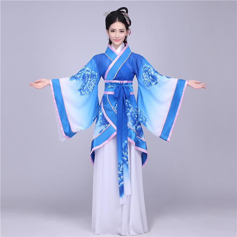 ee8fade2524f 2019 Chinese Ancient Costume Fairy Guzheng Women Dance Costumes Female  Ancient Imperial Concubine Tang Dynasty Clothing Performance From Cravat,  ...