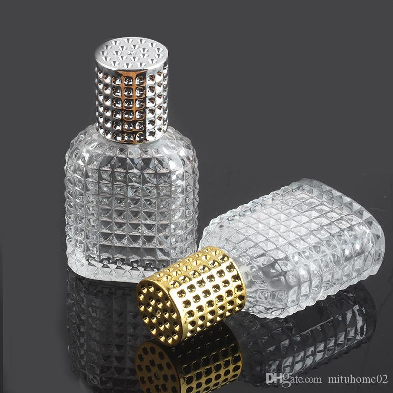 Glass Bottle with Spray Empty with Atomizer Refillable Bottles 30ml 50ml Pineapple Portable Glass Perfume Glass Bottle Spray