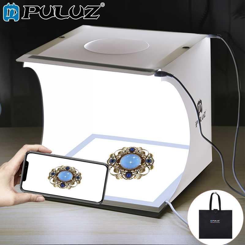 Photo Lamp 20cm Tente Blanche De Studio Shadowless Mini Pad Puluz Vue Kit Prise Light R34q5AjL
