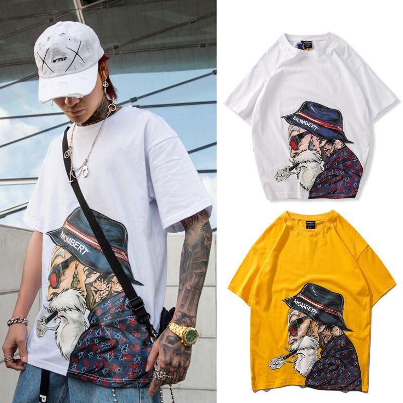 b0eec513235b02 2019 Latest design mens t-shirt summer tshirt Turtle immortal new fashion  men's short sleeve loose digital direct spray printed high quality