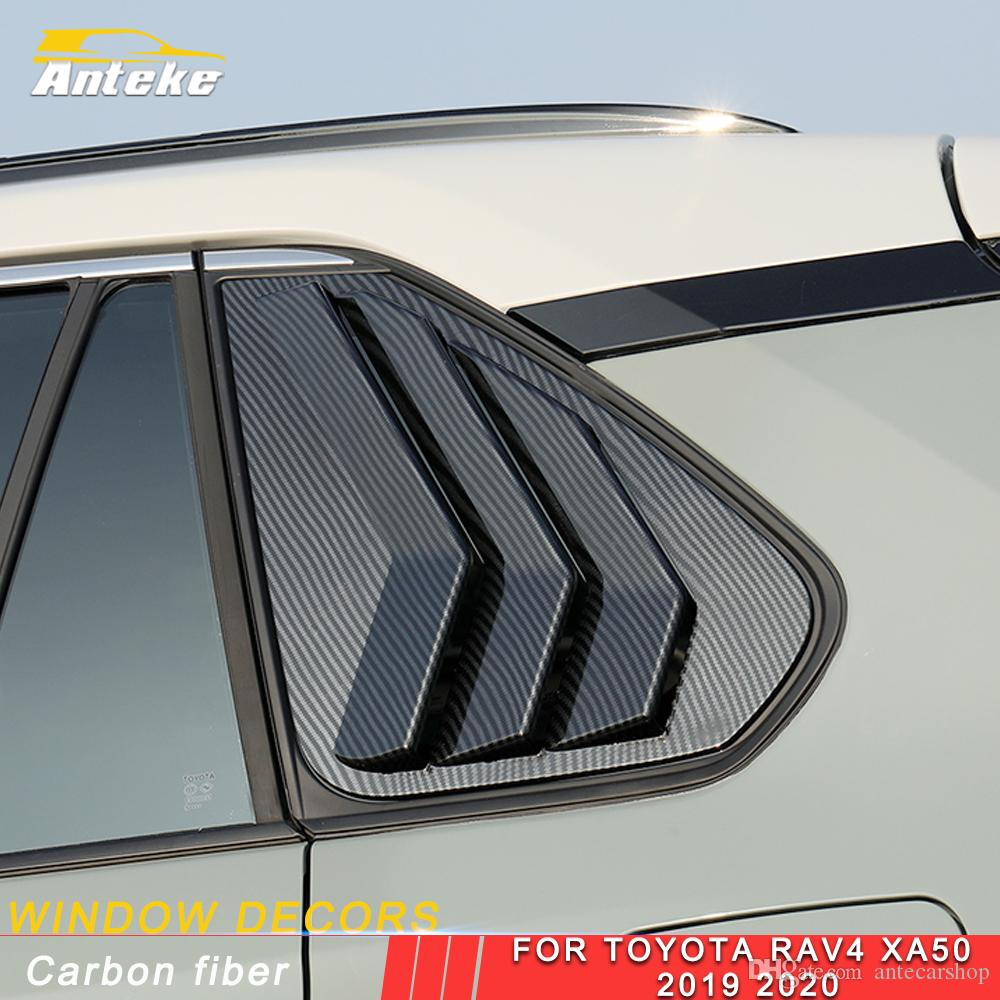 Per Toyota Rav4 Rav 4 XA50 2019 2020 Car Rear Window laterale Parasole Roller Blinder Copertura Decoration Frame Trim Sticker