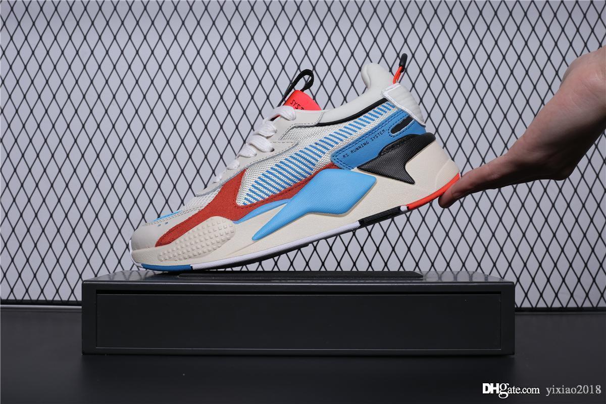 best loved e151b acdcc Großhandel RS X Reinvention Herren Sneakers Blau Grau Rot RS X Spielzeug Für  Retro Männer Frauen Casual Laufschuhe Modemarke Sport Designer Schuhe Von  ...