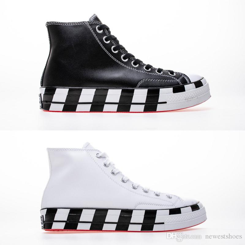 6e7df87451b5 2019 Best Quality Canvas All Star Shoes Black White Virgil 2.0 High Top  Chaussures Zapatos Men Women Running Shoes 1970S Sneakers 36 44 From  Newestshoes