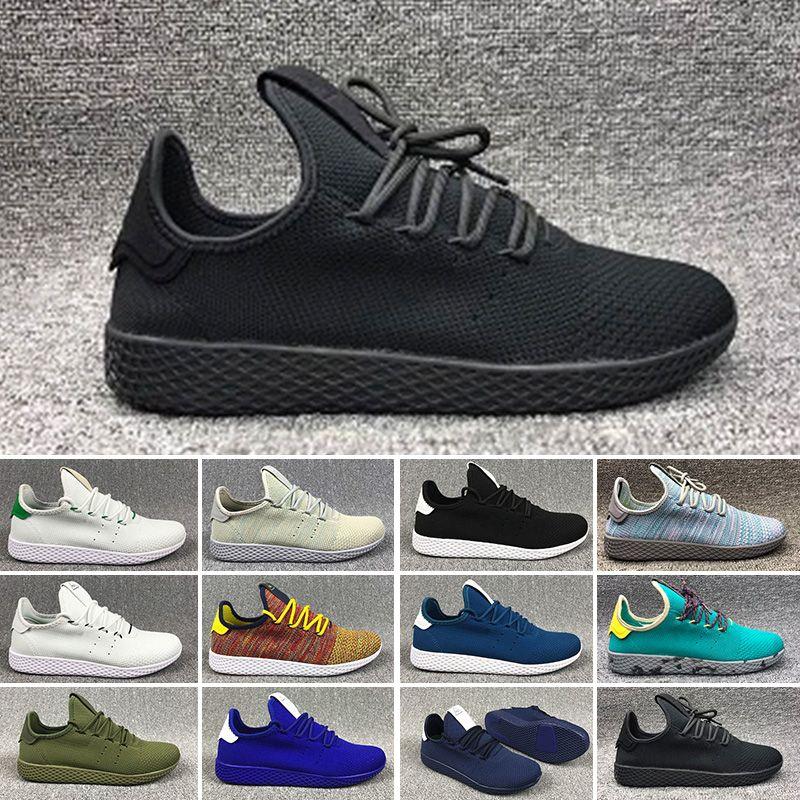 outlet store 3bc80 b3359 Acquista 2018 Adidas Tennis HU Nmd Tennis Hu Scarpe Da Corsa Da Uomo  Pharrell Williams X Scarpe Da Corsa Sportive Stan Smith Donna Scarpe Da  Ginnastica ...