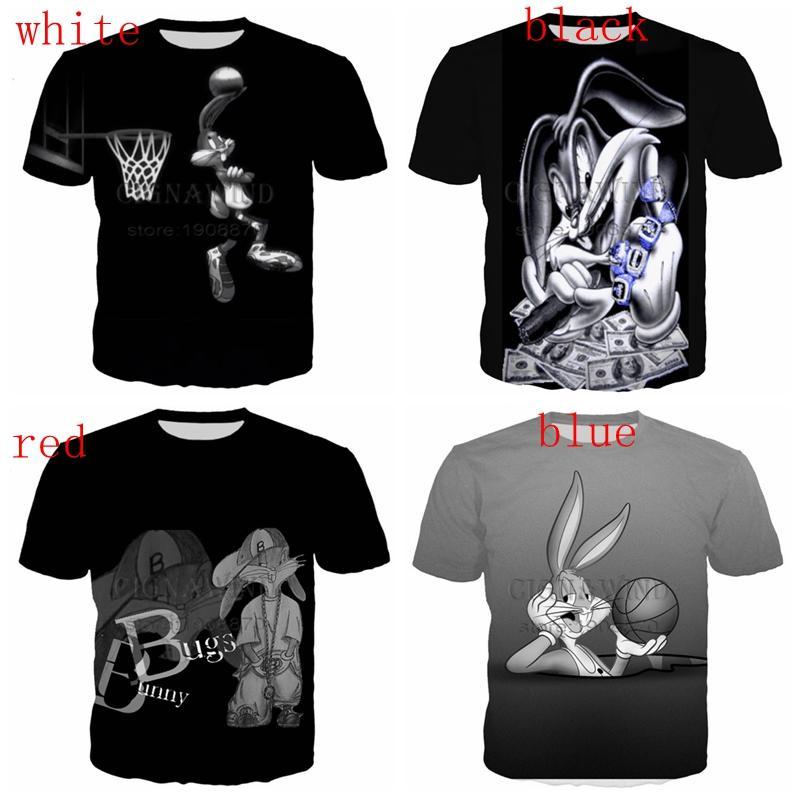 9e87d11a2a1e New Popular Gangster Bugs Bunny T Shirt Men Women 3D Print Fashion Cool  Short Sleeve T Shirt Online Funky T Shirts Buy T Shirt Design From  Fjb2571954485