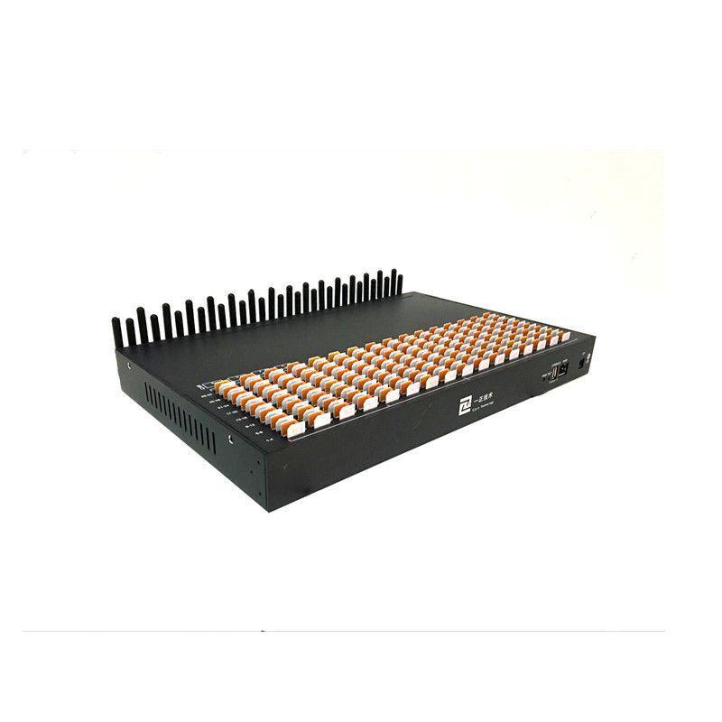 Hot Seller 256 Multi SIM Modem Pool Bulk SMS Blaster Device 32 Multi Ports  USSD API IMEI Changeable Support