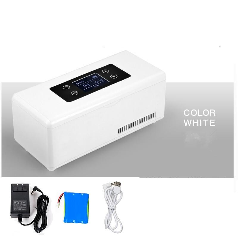 Cooler Car Refrigerated Electrical Auto Travel Refrigerator Outdoor Mini  Fridge Portable Portable Medicine Box