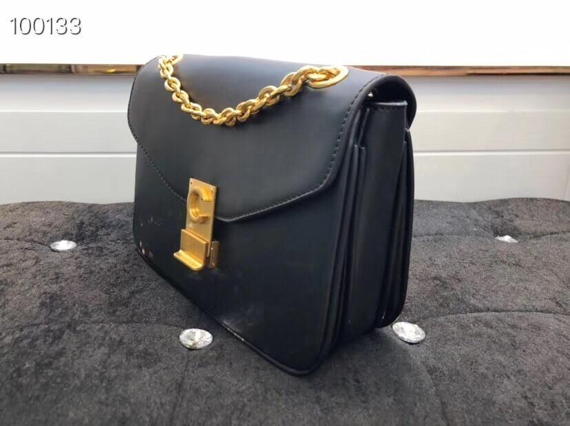Classic Messenger Bag Leather Ladies Tote Bag Designer Tote Wallet Shoulder Bag Size: 20cm-19cm-11.5cm
