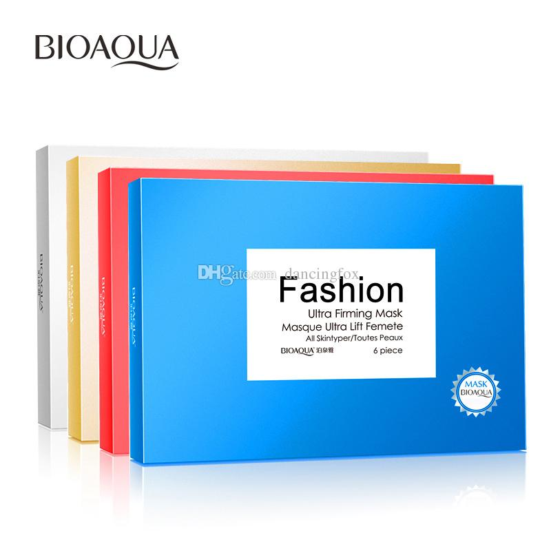 New Hot BIOAQUA Fashion Facial Mask 30g Children's facial silk protein mask Famous Cosmetic Multi-colors