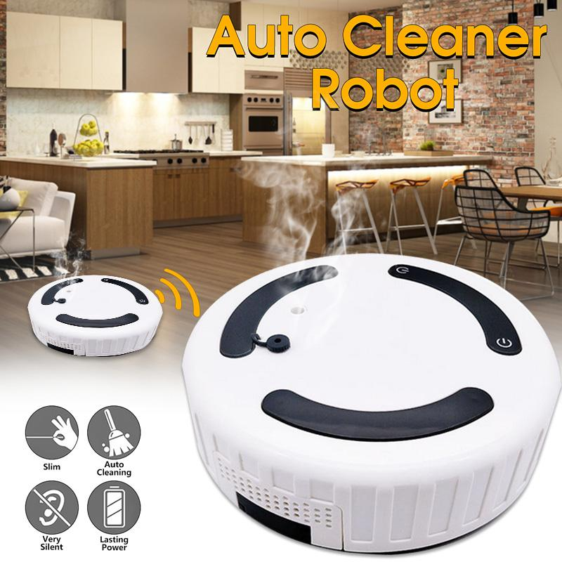 3 in 1 Multi-function Smart Sweeping Robot Vacuum Sweeping + Mopping + Humidifier Floor Dust Hair Automatic Cleaner Smart Home