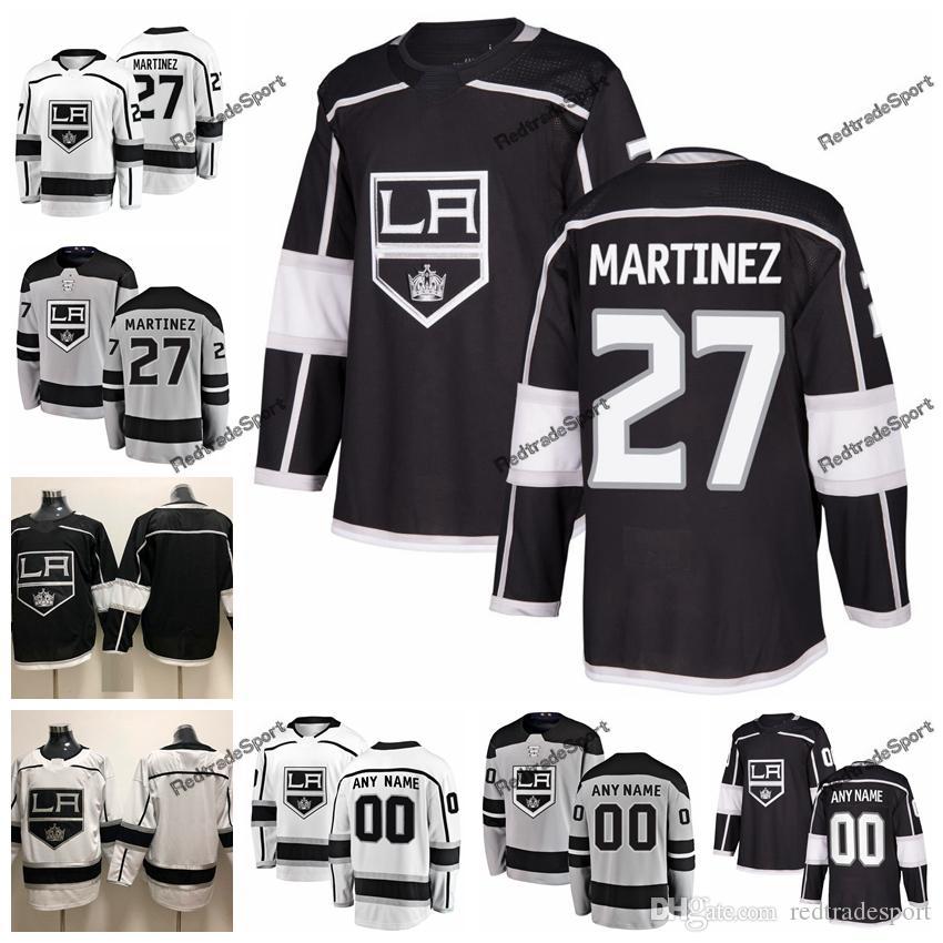 quality design 0edd2 b00f1 2019 New Alternate Alec Martinez Los Angeles Kings Hockey Jerseys Mens  Custom Name Home LA #27 Alec Martinez Stitched Hockey Shirts S-XXXL