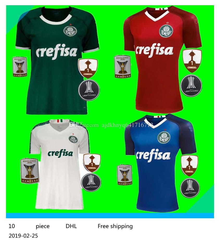724e1c3e17d 2019 Palmeiras soccer jerseys 19 20 SE Palmeiras home away DUDO DEYVERSON  LUCAS LIMA Willian football shirts. 2018-19 Cheap ...