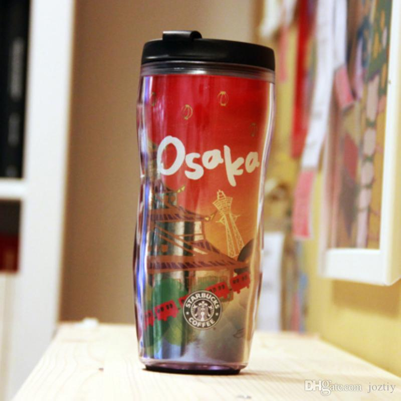 Genuine Starbucks Japan Osaka Donjon Vacuum cup Japanese City Series double  Tumbler for coffee water 12oz