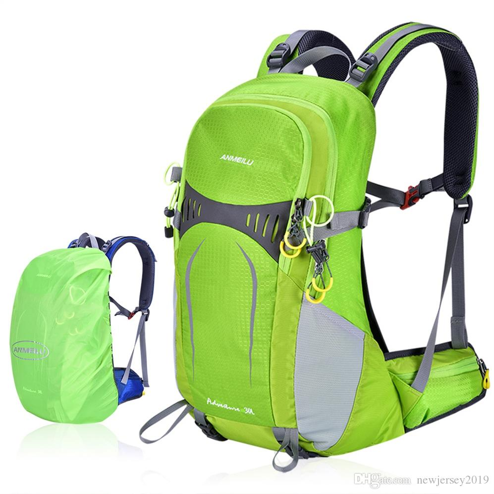2019 30L Hiking Backpack With Internal Frame Waterproof Lightweight Outdoor  Sport Travel Daypack Bag For Women Men Trekking Climbing  208664 From ... c254db3f9ff77