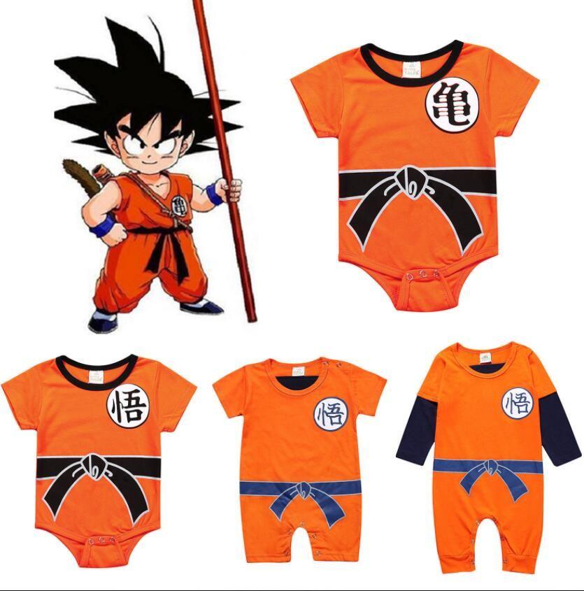 afd2d9c2d2fd 2019 Baby Dragon Ball Clothes R Newborn SON Dragon Ball Cosplay ...