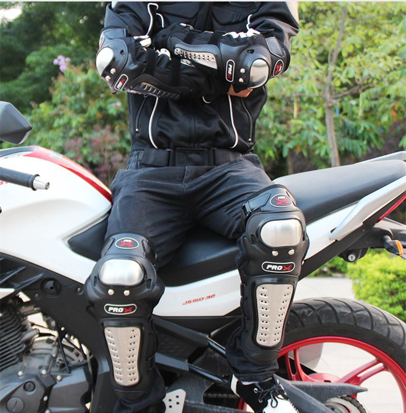 Knee Shin Guards AU NEW Motocross Motorcycle ATV Body Armour Jacket Protection
