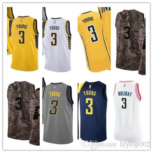quality design 2cd25 06626 2019 custom Men/WOMEN/youth Indiana Pacer jersey 3 Joe Young basketball  jerseys free ship size s-xxl message name number