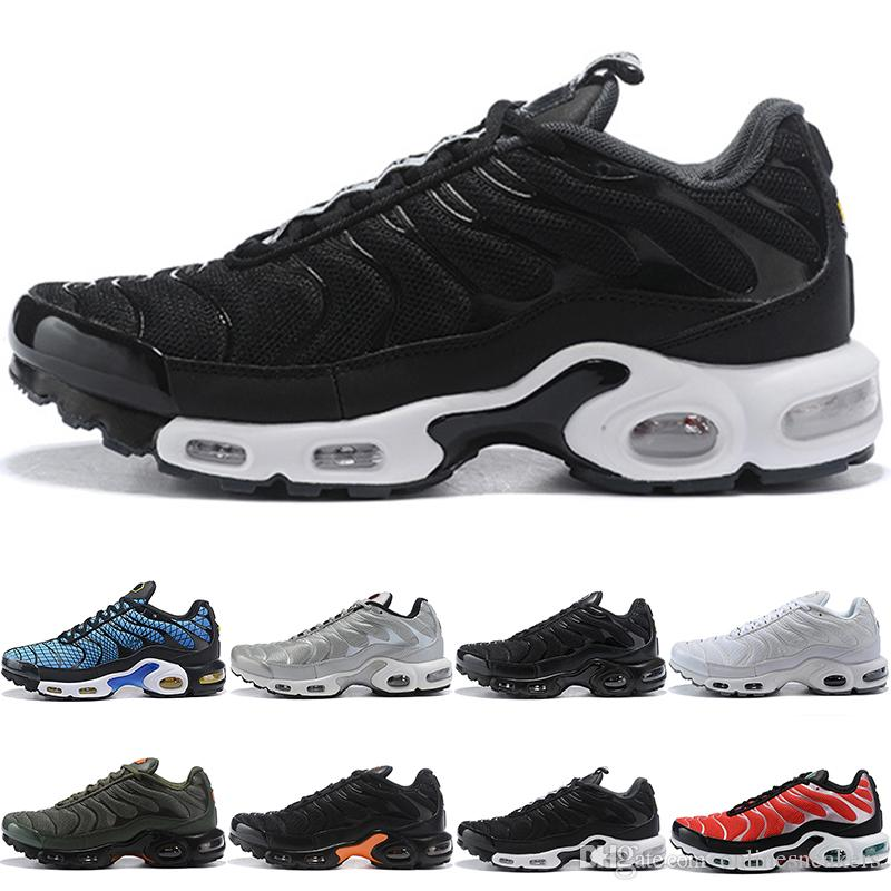 timeless design 94c50 a6b1f Großhandel Nike Air Max TN Plus Ultra Airmax Plus Tn Männer Frauen Laufschuhe  Ultra Dreifach Schwarz Weiß Silber Kugelkern Oreo Gold Billig Herren  Sportlich ...