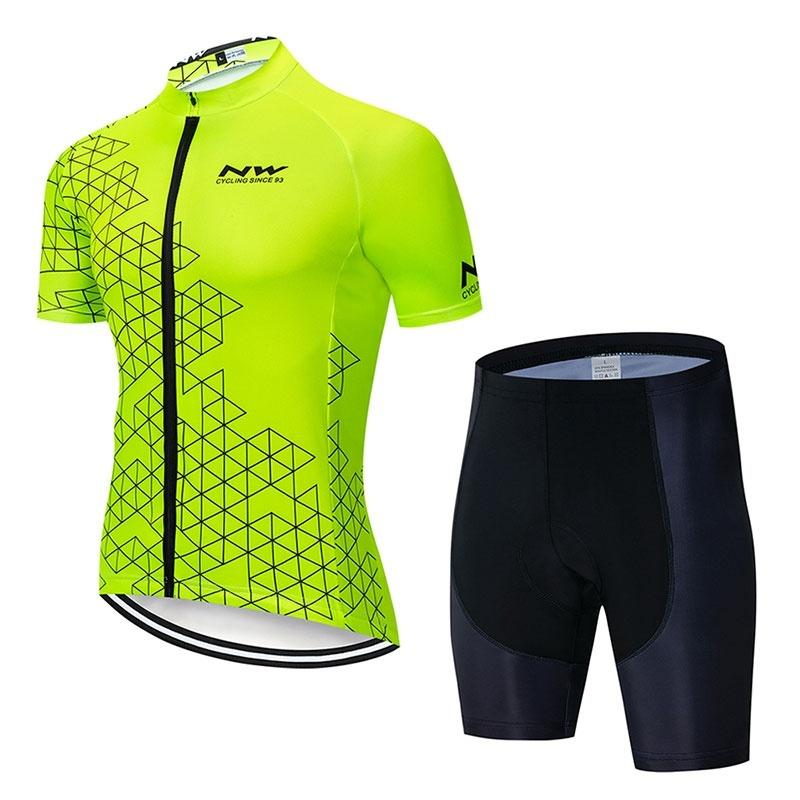 2019 NW Fahrradbekleidung Fahrradtrikot Sommer Style Ciclismo Ropa Ciclismo Schnelltrocknend Atmungsaktive Sportbekleidung Atmungsaktive Kleidung