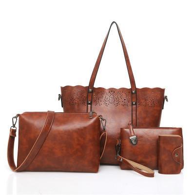 b89c53d7d7 /Sets Women Handbags Leather Shoulder Bags Female Large Capacity Casual  Tote Bag Tassel Bucket Purses And Handbags Sac Femme Shoulder Bags Handbags  On Sale ...