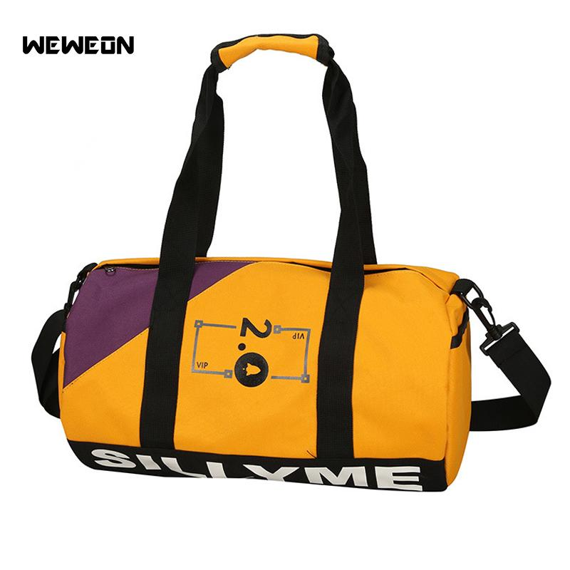 751b90ddf711 2019 Portable Colorful Sport Gym Bags For Men Training Bag Women Tas Fitness  Travel Duffel Bag Sac De Sport Outdoor Gymtas Yoga Bolsa From Mangosteeng