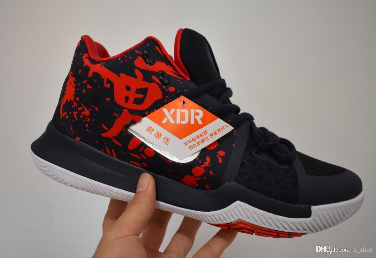online store d53bf 13c4a Kyrie Samurai Mens Casual Shoes 3 Samurai Casual Shoes Kyries us 40-46 come  with box