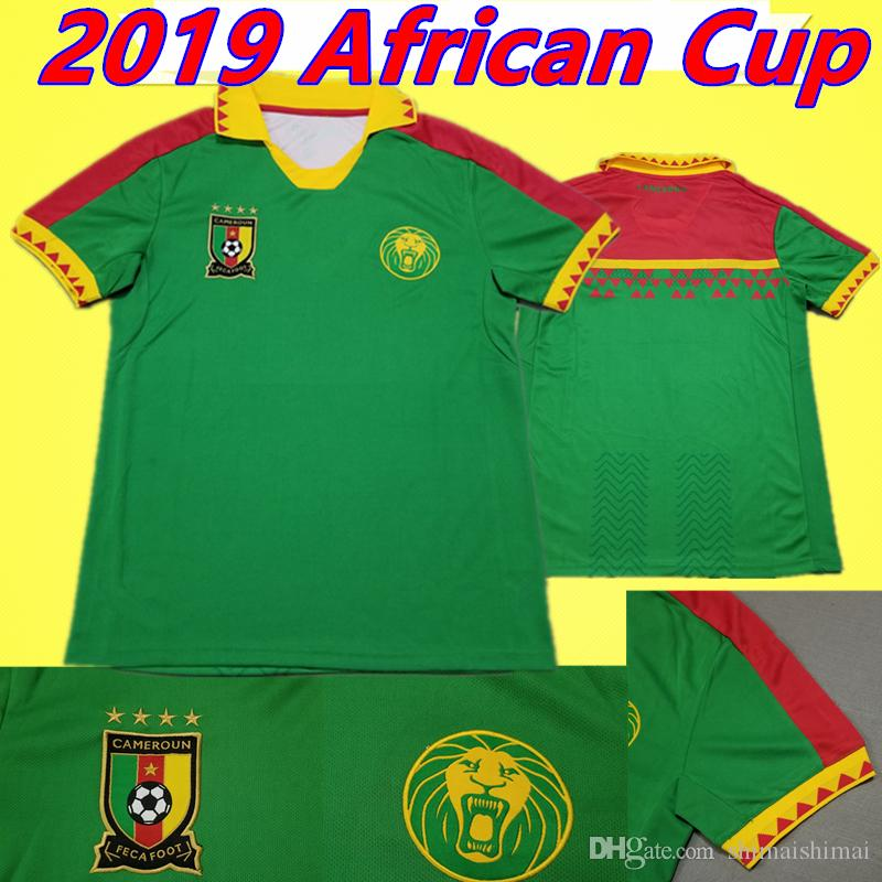 57ce2b0847 2019 19 20 Cameroon Soccer Jersey 2019 African Cup 2020 Thai Quality ...