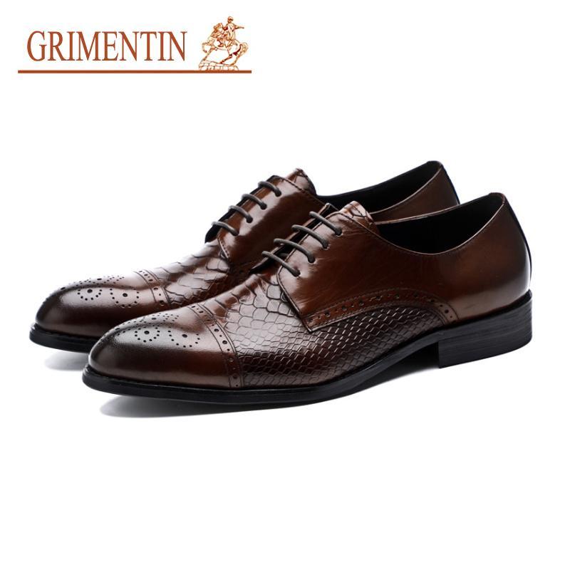 Geschäft Echtleder Business schuhe Herren Große Größe Schuhe