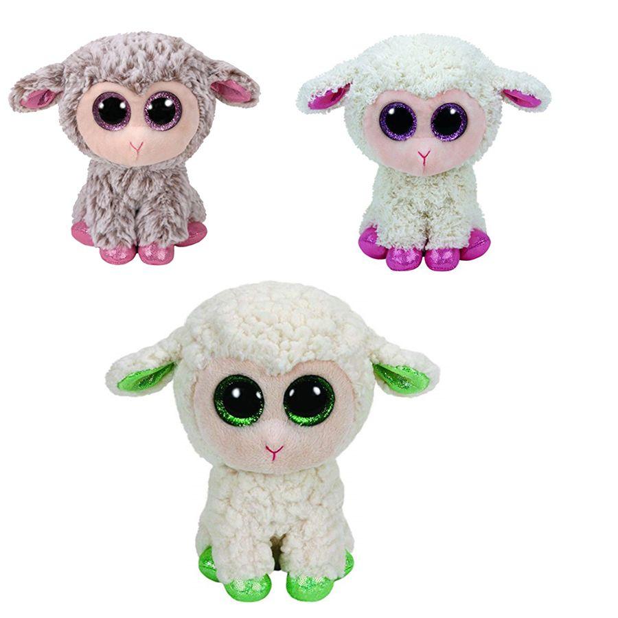 2019 Ty Beanie Boos 6 15cm Unicorn Sheep Reindeer Plush Regular Stuffed  Animal Collectible Soft Big Eyes Doll Toys For Children From Hanlley 860db7b03a05