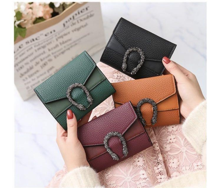 2019 Designer Wallets Small Wallet Female Short Retro Fold Change Wallet Hot Sale Mini Womens Bags Factory Price