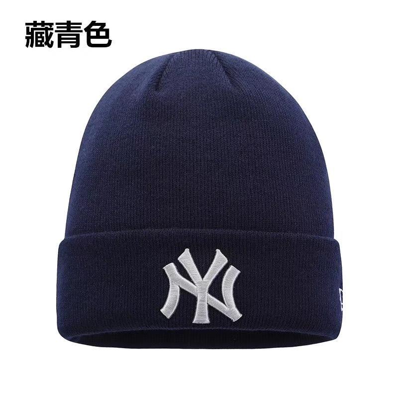 NY Beanies Knitted Hat Designer Champion Winter New York Yankees Beanie  Fedora Gorro Bonnet Skull Hats For Men Women Crochet Skiing Cap Hat Slouchy  Beanie ... bee4a5d33d3