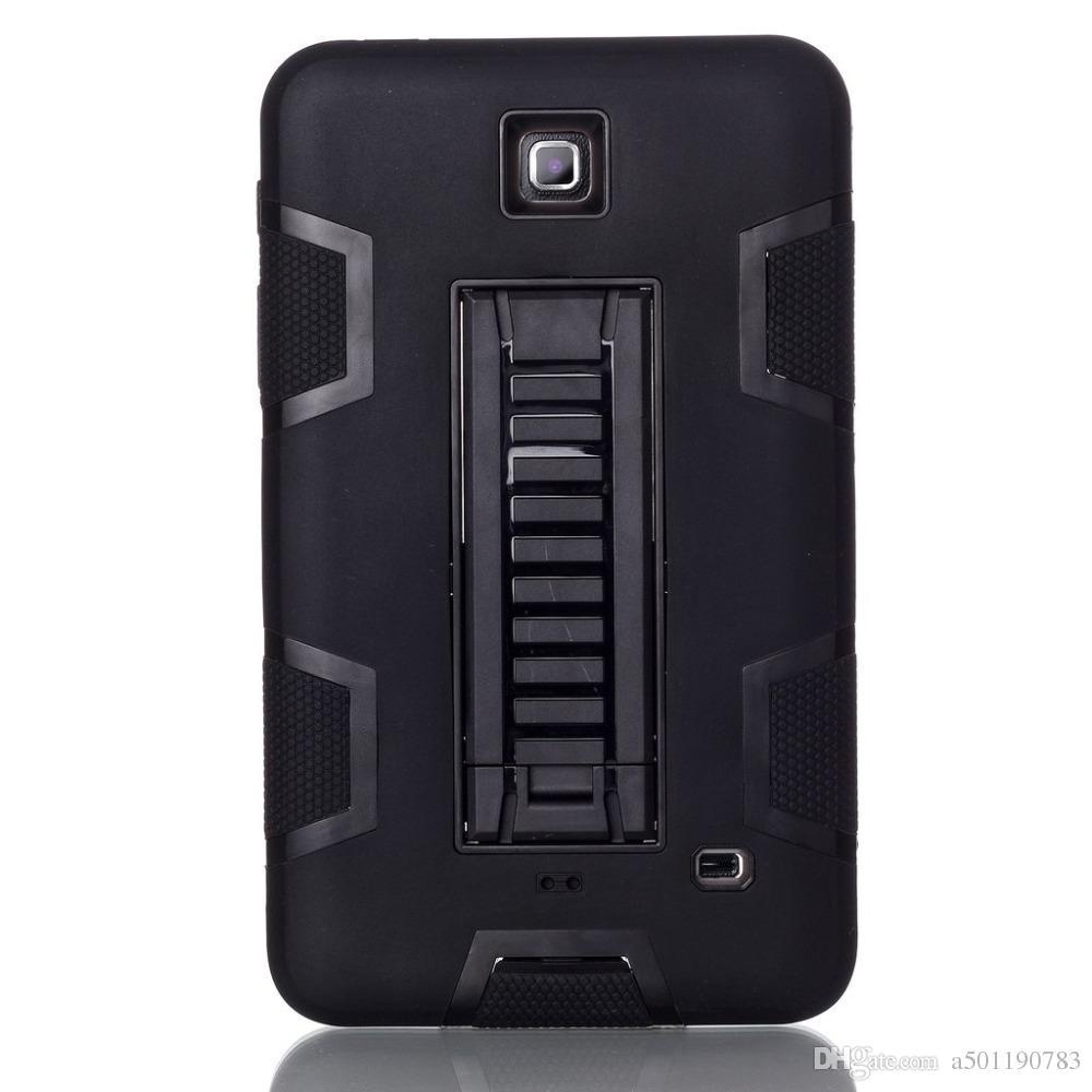 6400b48e9ce Compre Para Samsung Galaxy Tab 4 7.0 T230 T231 T235 SM T230 Funda Para  Tableta Silicona