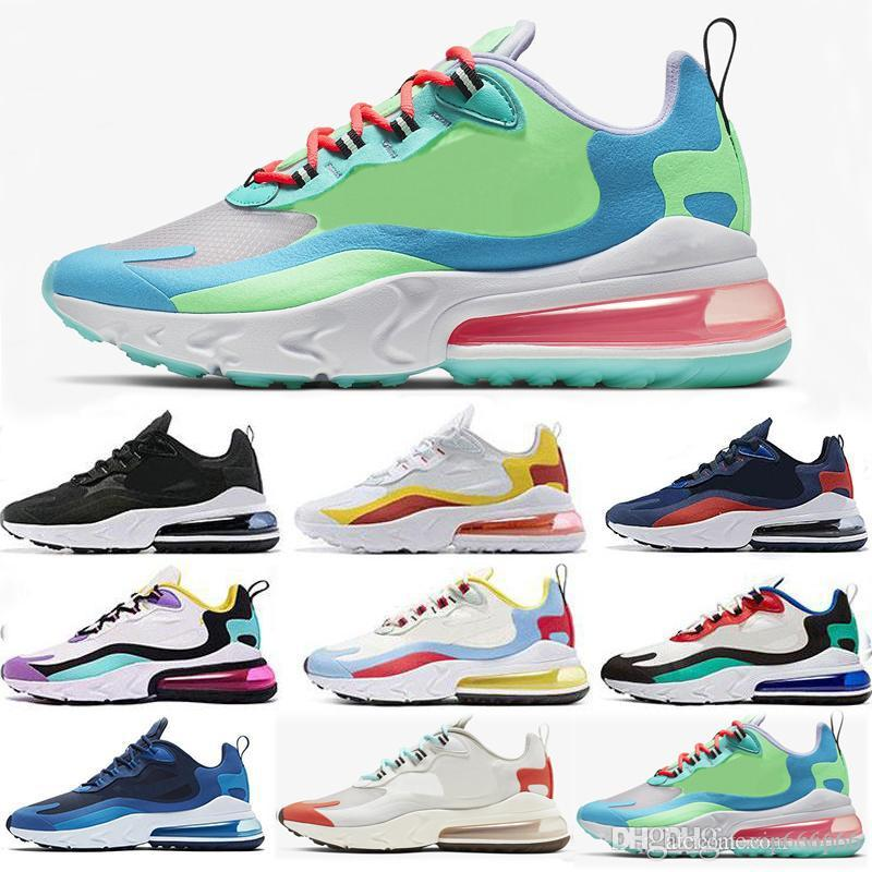 nike air max 270 React Purple Mens training Triple negro blanco presto Tiger Olive Women Diseñador de entrenadores deportivos al aire libre Zapatos zapatos Running Shoes