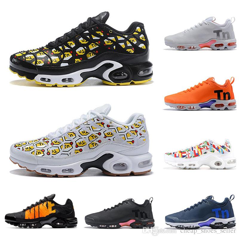 finest selection c5e6f 25139 2019 Mercurial Tn Plus 2 Air Running Shoes Chaussures Maxes Orange Men  Shoes TNs SE World Cup Shoe Sports Mens Trainers Sneakers 36 46 UK 2019  From ...