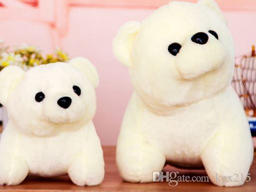 2019 Polar Bear Plush Toy Boy Small White Bear Pillow Holding Girl