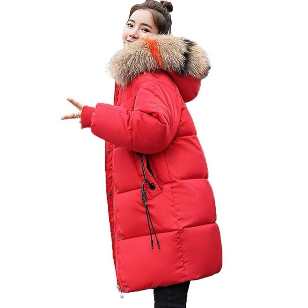 3990a29eb42 2019 New Winter Jacket Women Warm Thicken Outwear For Womens Winter Jackets  Ladies Long Hooded Female Parka Winter Coat Women Jacket From  Godblessus16388801 ...