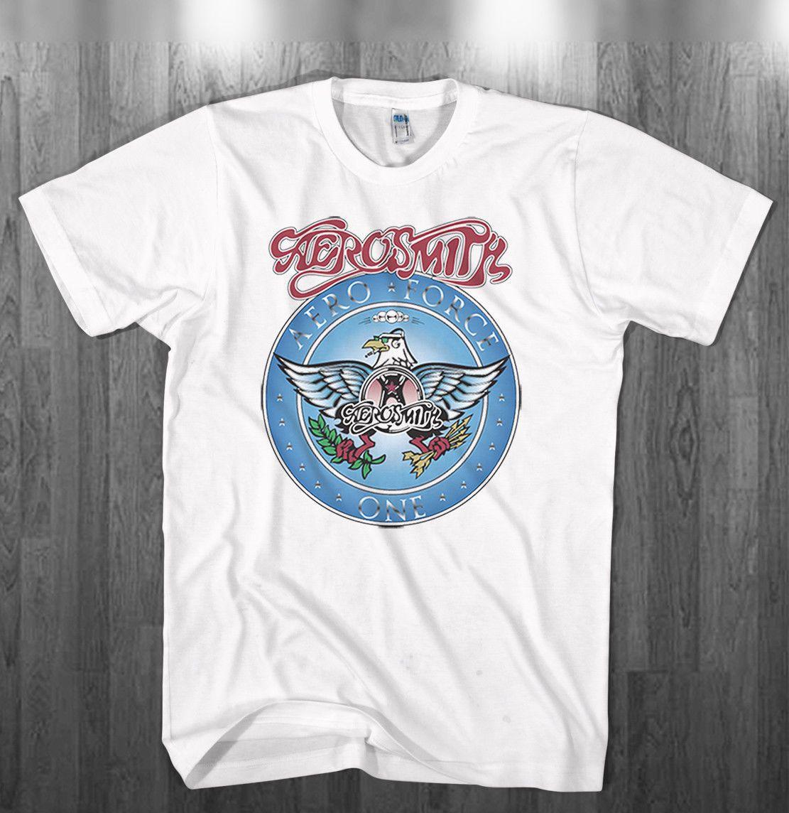 350a3d24 Wayne's World Garth Algar Aerosmith T-shirt Halloween Costume Mens Kids  Shirts