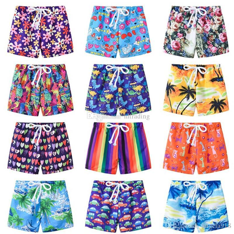 991fcb5b0e6 2019 Baby Boys Board Shorts Children Cartoon Print Swim Trunks 2019 Summer  Fashion Beach Shorts Kids Clothing C6009 From Angela918, $2.95 | DHgate.Com
